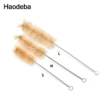 Haodeba 18CM / 21CM / 25CM  Chemistry Test Tube Bottle Wash Cleaning Brush  Lab Cleaning Tool