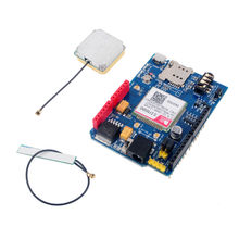 SIM808 Development Board Shield V1. GSM GPRS GPS BT Quad-band Replace SIM928 Module Antenna ARDUINO FZ2433 - DIYmall store