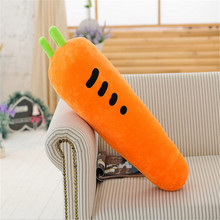 100cm Simulation Carrot Shape Pillow Cushion Plush Cloth Baby Doll Toy For Home Sofa Seat Decoration Birthday Gift(China)
