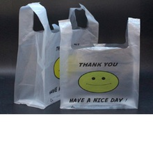 NEW material plastic shopping bag supermarket plastic bag clothing gift store market retail bag 25*42cm1000pcs via dhl/fedex/ems