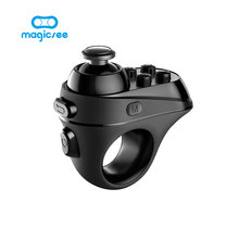Magicsee R1 Bluetooth 4.0  Wireless remote Gamepad VR Remote Mini Game Controller Joystick For IPhone IOS Android smart phone