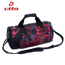 Etto New Women Bags for Fitness and Sports Great Bodybuilding Bag Female Yoga Training Shoulder Nylon Tote Travel Handbag HAB311(China)