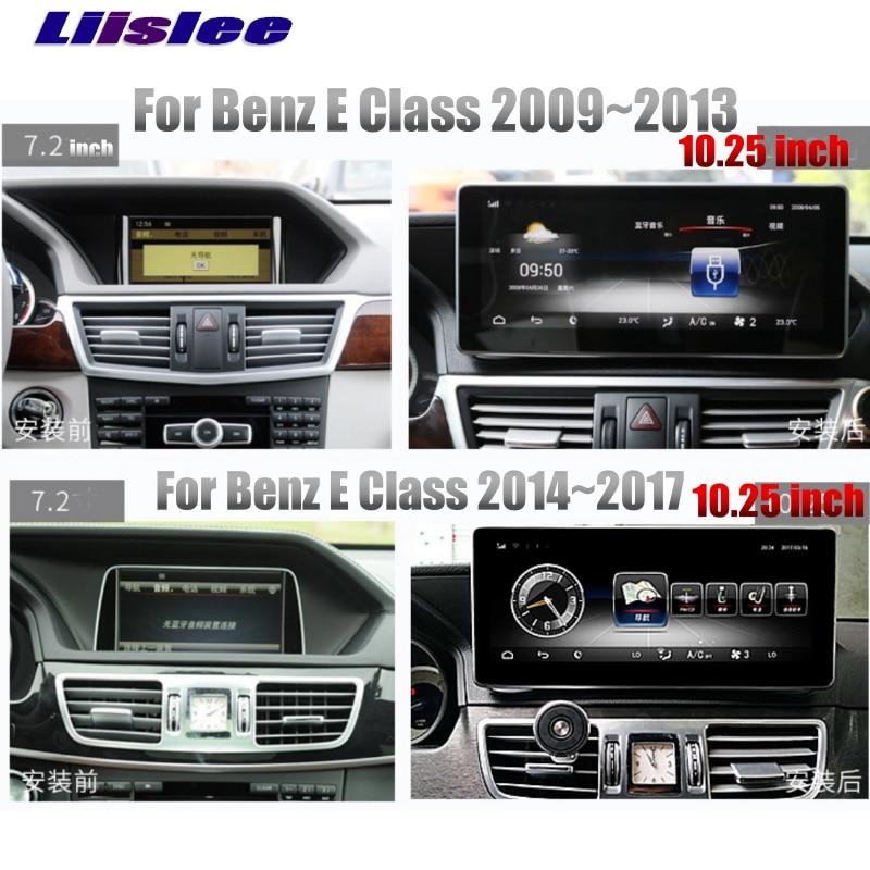 LiisLee Car Multimedia Player NAVI For Mercedes Benz MB E C207 A207 2009~2017 Coupe Original Car Style Radio GPS MAP Navigation 01