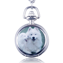 Quick Sell Through Foreign Trade Dog Variety Of Retro Long Necklace Quartz Pocket Watch Men And Women Sweater Chain Jewelry