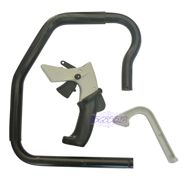 Front Handle Bar &amp; Rear Handle W/ Support Bracket Kit For Stihl 070 090 Chainsaw Parts<br>