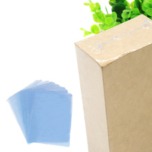TAOS 200Pcs 11.81 x 6.3inches PVC Shrink Wrap Film Flat Bags Heat Seal for Soaps Bath Bombs Handmade DIY Crafts Gift Packing(China)