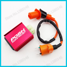 Racing Ignition Coil 6 Pin AC CDI For Chinese GY6 50cc 125cc 150cc Moped Scooter Pit Dirt Bike ATV Quad(China)