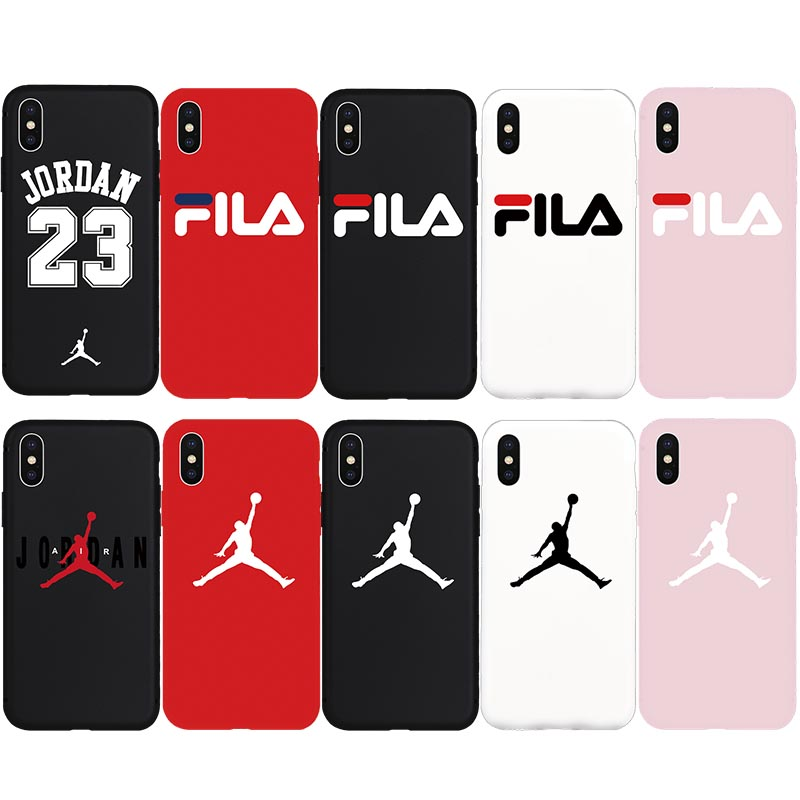 Brand NEW Sport Fashion Trend Soft Case for iPhone 7Plus 8Plus 7 8 X Xs Max XR 5s 5 SE 6 6s Plus Phone Cover Cases Coque Fundas(China)