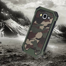 Camouflage Military Fan Cell phone case for Samsung Galaxy j3 case unbreak phone cover for samsung j310(2016) case 3-proof cover