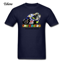 XS-XXXL Rossi VR 46 The Doctor T Shirt Men's Print Summer Moto Gp T-Shirt Guys Fashion Crew Neck Plus Size Shirts Tops Clothing(China)