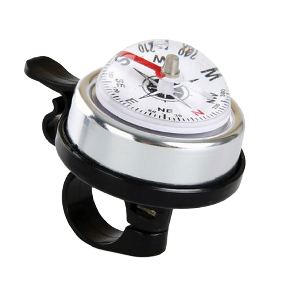 Metal Ring Handlebar Compass Bell Sound Horn Mountain Sport Cycling Bike Bicycle
