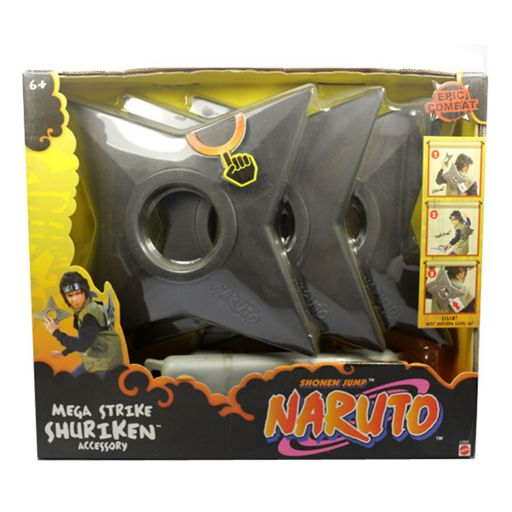 Epic Combat Naruto Mega Strike Shuriken Accessory Jump Cosplay Figure Free Shipping<br>