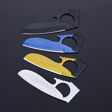 Portable knife camping tool wallet credit card knife outdoor toolknife