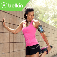 "Belkin Original Sport-Fit Plus Jogging GYM Armband Case Hand-washable for iPhone 6/6s 4.7"" with Key Pocket with Package F8W620(China)"