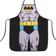 New Arrival Superman Batman Apron Personality Whimsy Novelty Couples Party Sexy Fun Gifts Party Sale Dropshipping Hot Sale