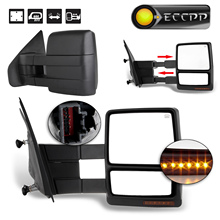 Eccpp Power Heated Towing Mirror For 2004 2005 2006 Ford F150 Truck Turn Signal Puddle Light Car Rearview Mirrors Pair Set