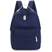 Women Backpack Solid Color Simple Rugtas Tote Backpack School Bags For Teenager Girls Students Shoulder Bag Morrales Para Mujer