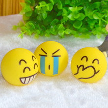 Hot Sale Squeeze Relief Hand Massage Relaxation Ball Smiley Face Anti Stress Reliever Ball ADHD Autism Mood Toy Wholesale