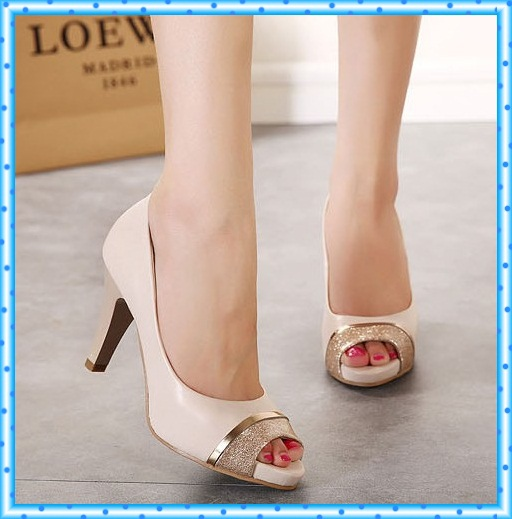 open toe sandals for women party shoes woman new 2017 ladies peep toe pumps sexy thin high heels fashion paillette pumps C303<br><br>Aliexpress