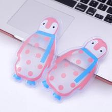 Penguin Shaped Thicken Reusable Gel Ice Bag Cool Pack High Quality Summer Cold Cooler Bags Health Care Pain Relief