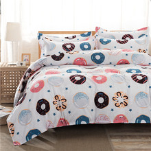 High Quality Promotion Sale Bed set/Bedding sets Duvet Cover Flat Sheets Pillowcase(China)