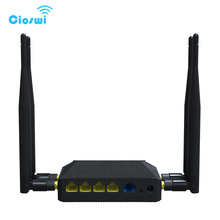 Free shipping 3g 4g openwrt wireless router with sim card slot wifi(China)