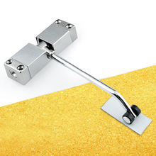 Simple Household Small Door Closers,Invisible Buffer Closed,Automatically Slowly Close Door Damper,Hotel Room Door Mute