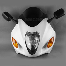 NEW ABS Upper Fairing Cowl Combo FOR Suzuki Hayabusa GSX1300R 99-07