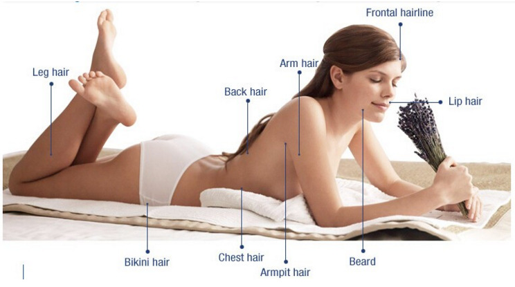 2016 The most popular home use IPL laser hair removal machine with 3 replaceable lamps 120000 flashes