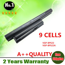 Wholesale New 9cells laptop battery FOR SONY VAIO VPC-E Series  VGP-BPS22  VGP-BPS22A