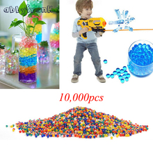 10000 Pcs Soft Crystal Water Paintball Bullet Mix Color Orbeez Gun Toy Growing Water Pearls Gun Accessories Suit For Most Gun