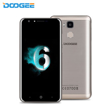 Original DOOGEE Y6C Android 6.0 MTK6737 Quad Core 5.5'' 2.5D Glass Screen 2GB RAM 16GB ROM 4G LTE Unlocked Cellphone with OTA