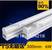 t5 led tube light 6w explosion-proof energy-saving led fluorescent lamp 30cm t5  2835smd T5 lamp 12v or AC85-260v  free shipping