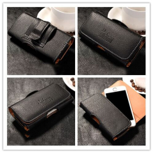 New Top grade Universal Holster skin Waist hanging Belt Clip Leather Pouch Cover Case For Nokia Lumia 800 N800 Lumia800