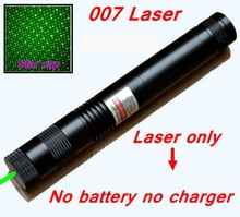 [ReadStar]RedStar 007 high power 1W Green Laser pointer Laser pen burn match star pattern cap laser only w/n battery & charger(China)