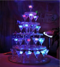 288pcs freeshipping Liquid active Colors Changing LED Night Light ice cube Decoration,Glowing Ice Cube,lighted Ice Led wholesale