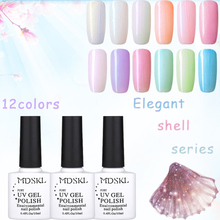 Buy MDSKL 10ML Fashion Shell Series Pearl Nail Gel Polish UV Gel Nail Polish DIY UV Gel Glue Nail Art 12 Colors for $1.55 in AliExpress store
