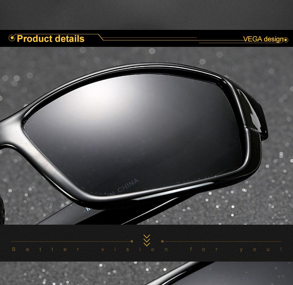 VEGA Eyewear Best Women Men Sports Sunglasses Polarized Outdoor Sports Glasses for Bike Fishing Running Sport Eyewear 206 (2)
