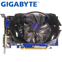 Gigabyte graphics card оригинальный GT740 1 ГБ 128Bit GDDR5 видео карты для nVIDIA Geforce GT 740 использовать карты VGA сильнее, чем GTX650(China)