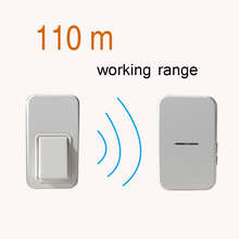 AUGREENER kinetic remote control door chime Ring bell Cheap and free shipping outdoor ring in house