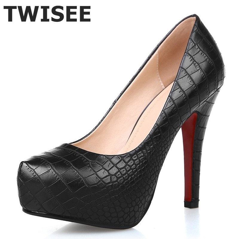 white yellow black platform shoes Spring Summer Woman shoes red bottom High heels Pump shoes for women Sexy<br>