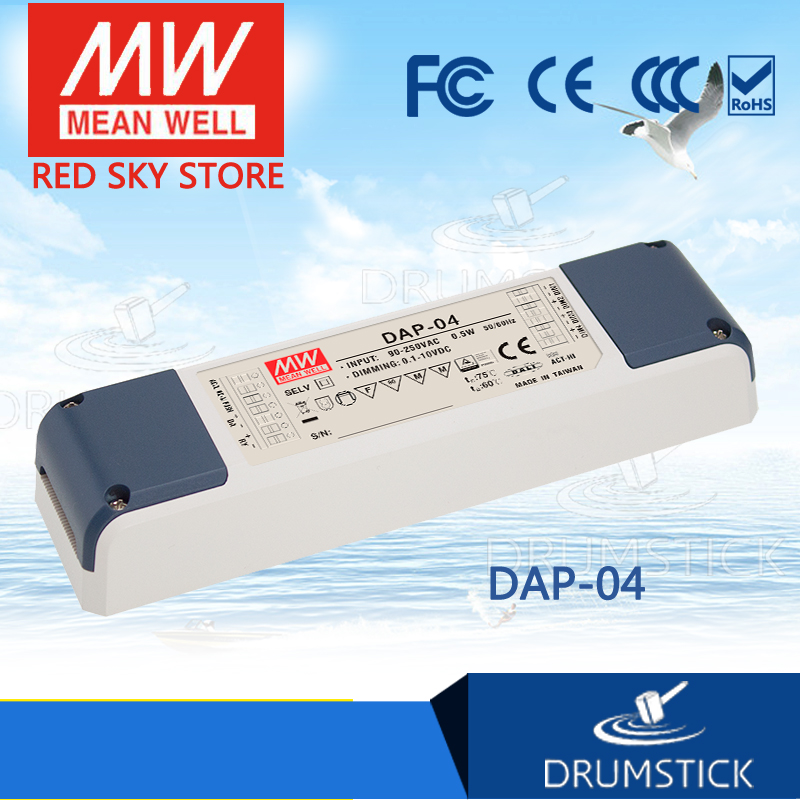 Hot sale MEAN WELL original DAP-04 0.1A meanwell DAP-04 0.5W Single Output LED Power Supply<br>