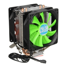 CPU cooler Silent Fan For Intel LGA775/1156/1155 (For AMD AM2/AM2+/AM3)