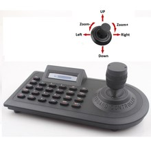 NEW Three Dimensional 3D keyboard Controller For PTZ Zoom CCTV Camera 3D Joystick Home Security Safety(China)