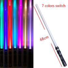 Star Wars Lightsaber New 7 Colors Switched With Light & Sounds Laser Sword Toys Cosplay Weapons Sabers Kid Boy Gift