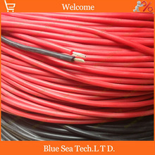 5 Meter Ultra soft silicone test line/cable,17 AWG 1.0 sq,3KV,RoHS,-65C~200C Ultra Flexiable silicone cable Free Shipping(China)