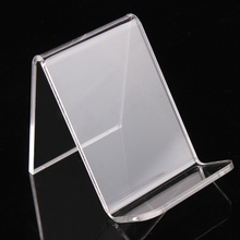 Clear acrylic cellphone stand wallet holder jewelry display with nice new design good quality wholesale price