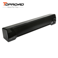 TOPROAD LP-09 Bluetooth Speaker 3D Soundbar Wireless HIFI Subwoofer Speakers TF AUX USB FM Boombox Altavoz For Computer PC Phone(China)