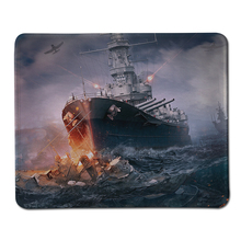 Cool World of Warships Stitched Edge Mouse Pad Large Gaming Computer Mousepad Natural Rubber Mice Mats For Gamer