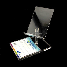 50pcs New Style high chair shape Mobile cell Phone Display rack show Holder Stand Mount Clear Acrylic